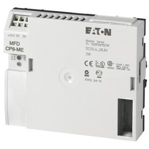 MFD-CP8-ME, CPU/Netzteil, 24VDC, erweiterbar, ohne easyNet, Programm- u. Maskenspeicher