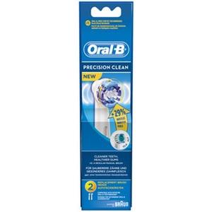EB PrecCl 4er, Oral-B Aufsteckbürsten Precision Clean 4er, weiss