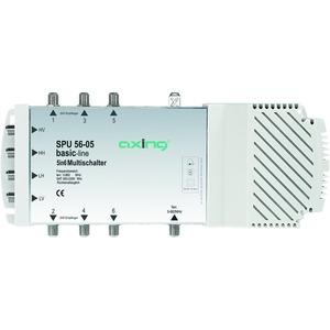 Multischalter, 5 Eingänge, 6 Teilnehmer, 47-2200 MHz, 6-20 dB Dämpfung, Innen