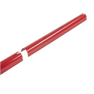 FRH - Type 60 ROT 50 cm lg. m.Ein, Kabelabdeck Rundhaube FRH - Type 60 - 50 cm lang m. Ein rot