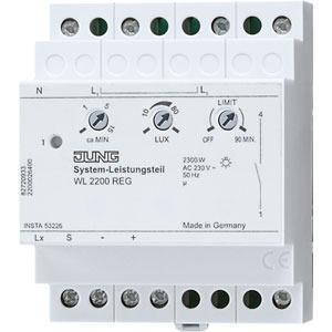 WL 2200 REG, System-Leistungsteil, REG, 1-kanalig, für maximal 8 Sensoren, 4 TE