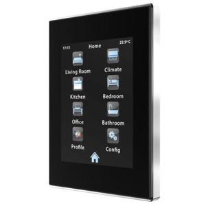 ZN1AC-UPFRCR, Zennio Upgrade-Rahmen für Z41, TMD und TMD-Display (Chrome)