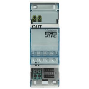 SCS-SCS Systemkoppler, Reiheneinbaugerät 2 TE DIN