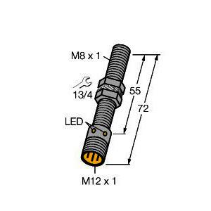 BI2-G08-AP6X-H1341, Induktiver Sensor