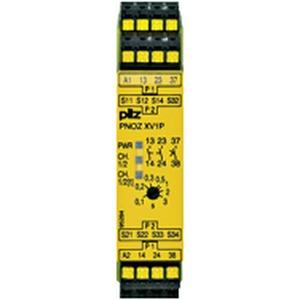 PNOZ XV1P C 3/24VDC 2n/o 1n/o t