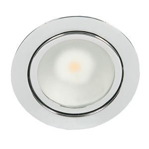 N 5020 COB LED chrom 3,3W warmweiß, N 5020 COB LED chrom 3,3W warmweiß
