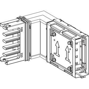 KSA Winkelelement, 250A,hochkant, Standardlänge