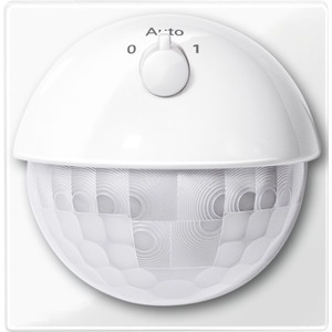 ARGUS 180 UP Sensor-Modul mit Schalter, polarweiß glänzend, System M