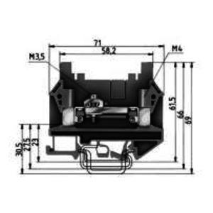 9760 U /  8 SWK 3 /V0, Mess-Trennklemme-9760 U /  8 SWK 3 /V0