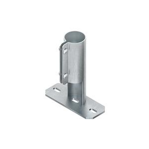 MIAB 60 F, Anschluss Boden, Ø 60 mm, Stahl, feuerverzinkt DIN EN ISO 1461, inkl. Zubehör