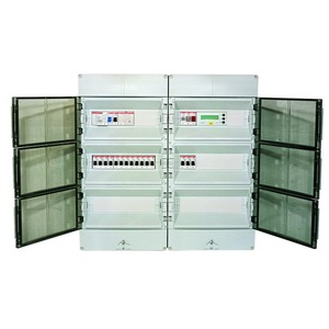 Typ: DV17-20FF400, Steuer-Verteilung f. Freiflächenhzg.  für 17-20 Heizkreise