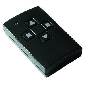 Handsender Easywave 868 MHz 1-Kanal Auf/Stop/Zu schwarz glänzend