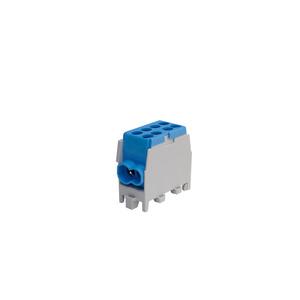HLAK 25-1/2 M2 blau, minimodulare Hauptleitungs-Abzweigklemme HLAK 25-1/2 M2  blau