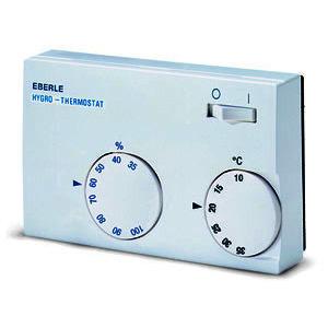 HYG-E 7001, Hygrothermostat, 10-35C, 35-100%, AC 230V/24V, 1We, 10/5 A, AC 24-230V, 1We, 5A