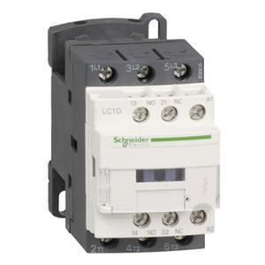 Leistungsschütz LC1D 3p, +1S+1Ö, 7.5 kW, 18 A, 400 V AC3, Spule 24 V DC