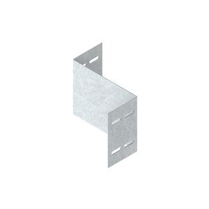 WSRS 150.100 S, Reduzierstück für WSL/WRL, 150x100 mm, Stahl, bandverzinkt DIN EN 10346, inkl. Zubehör
