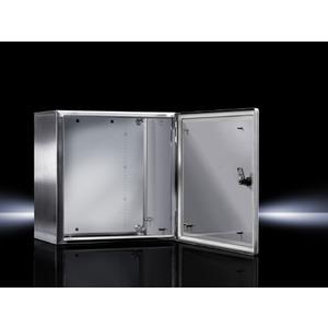 KE 9403.600, Ex-Gehäuse Edelstahl, Leergehäuse mit scharnierter Tür, BHT 380x380x210 mm