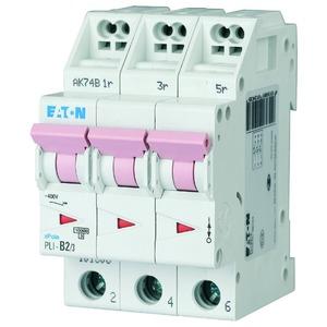 PLI-B2/3, Leitungsschutzschalter, 2A, 3p, B-Char