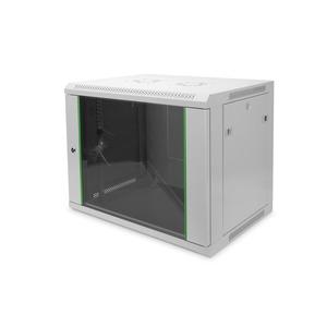 9HE Wandgehäuse 505,05x600x450 mm, Farbe Grau (RAL 7035)