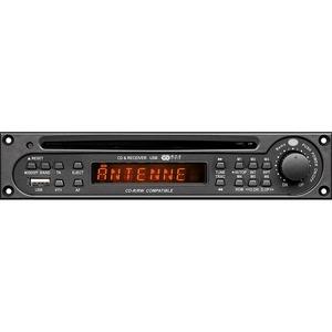 CD/MP3-Tunermodul, inkl. RDS-Tuner, CD-/MP3-Player und USB-Schnittstelle