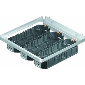 MS250-3 3UT4, Montageset für Rahmenkassetten mit 3 Universalträgern UT4 262x262x65, St, FS