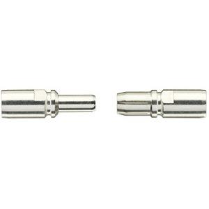 Axialschraubkontakt, Betriebsstrom: 100A, Stift, Kupferlegierung, versilbert, Leiterquerschnitt: 10...25mm²