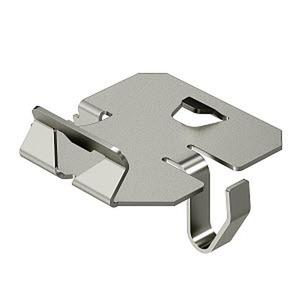 KS KR A2, Klemmstück für Kabelrinne zur Trennstegbefestigung, V2A, A2