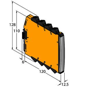 IMX12-FI01-1SF-1I1R-CPR/24VDC/CC, Frequenzmessumformer / Puls-Counter, 1-kanalig, TÜV 16 ATEX 192124 X