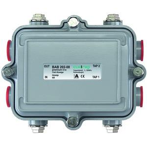 Abzweiger, 2-fach, 8 dB, 5-1006 MHz, 5/8 Zoll-Anschlüsse, IP55, Richtkoppler