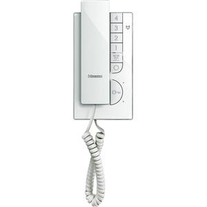 Hausstation CLASSE 100 A12M. Audio-Hausstation mit Handhörer in 2-Drahttechnik. B × H × T: 95 × 192 × 45 mm