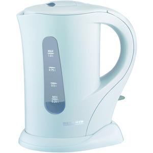 Wasserkocher, ca. 1000 W, 1,0 Liter weiß