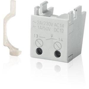 S2C-H10, Integrierter Hilfsschalter für S200, nachträglich unten anbaubar, 1 Schliesser