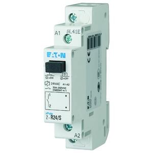 Z-R24/S, Installationsrelais, 24VAC/50Hz, 1S, 20A