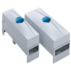 Anschlussklemmenplatte, 3-polig 6 - 50 mm², AWG 10 - 2/0, lam. Cu. 7 - 9 x 4 - 10