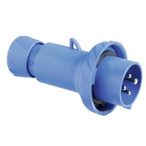 CEE Stecker, Schneidklemmen, 32A, 3p+E, 200-250 V AC, IP67