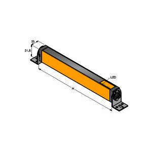 LS2TR30-1050Q8, Personenschutz Lichtvorhang, Empfänger