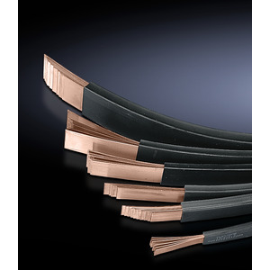 SV 3572.005, Lamellierte Kupferschiene 10x24 mm (10x24x1 mm), L=2000 mm