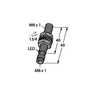 BI2-EG08-AP6X-V1131, Induktiver Sensor, mit erhöhtem Schaltabstand, Standard