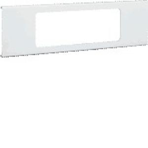 Blende 3-fach R18 PVC FB OT 230 cweiß