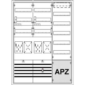 KS718Z, KS718Z Komplettschrank, Aufputz mit BKE-I, 3/3A 2Z2R1S1V5A2