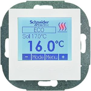 Programmierbarer Universal Temperatur Regler Einsatz mit Display reinweiß