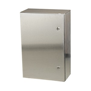 Wandgehäuse GL66 Edelstahl 304 mit Tür, 400x600x210mm
