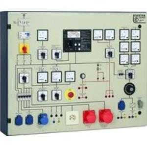 PST 5E, Prüftafel mit eingebautem;Messgerät GE