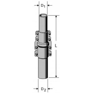 ZSH 59 Schiebemast 2 x 3 m, Schiebemast 6 m, 48/60 mm, ZSH 59