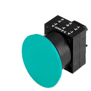 3SB3000-1GA21, Pilzdrucktaster, 22mm, rund Kunststoff, rot