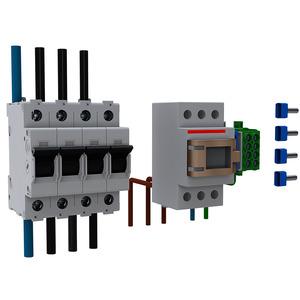 Best.-Paket Einsp. an Bezugszähler 3Pkt (44A)für BH7 u. BH9, VSS 16 mm²