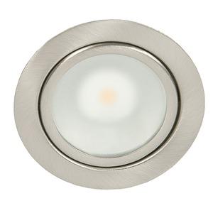 N 5020 COB LED nickel-gebürstet 3,3W warmweiß, N 5020 COB LED nickel-gebürstet 3,3W warmweiß