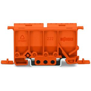 Befestigungsadapter Serie 222 orange
