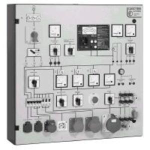 PST 4E, Prüftafel mit eingebautem;Messgerät GE