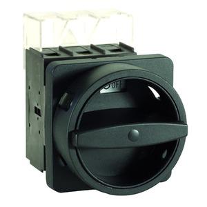 H410-41300-033N2  Hauptschalter 100A, Hauptschalter 3-polig In=100A N-VHS grau IP66 Vierlochbefestigung.. Fronteinbau